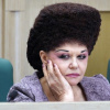 Charismatic Russian senator famous for her extravagant hairdo will ...